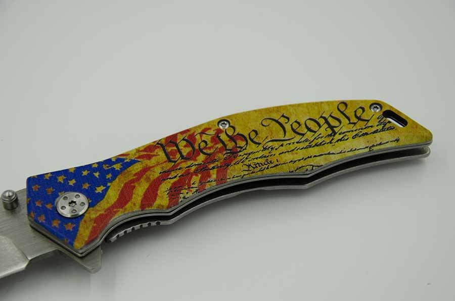 MP: We The People Knife – SOS Self Defense Tools